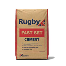 Rugby Fast Set Rapid Cement 25kg