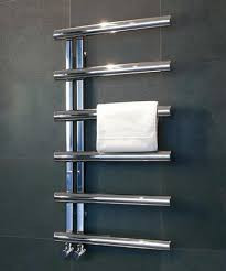 Bisque Chime Towel Radiator 1760 x 500mm - SS Mirror