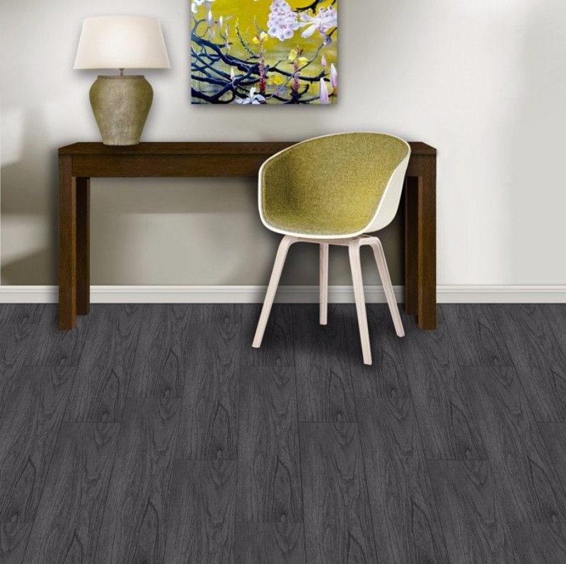 Aquastep Anthracite Waterproof Flooring
