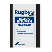 Rugby Black Bitumen Macadam 25kg