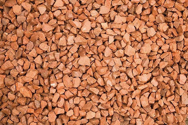 Red 14mm Decorative Chippings Bulk Bag