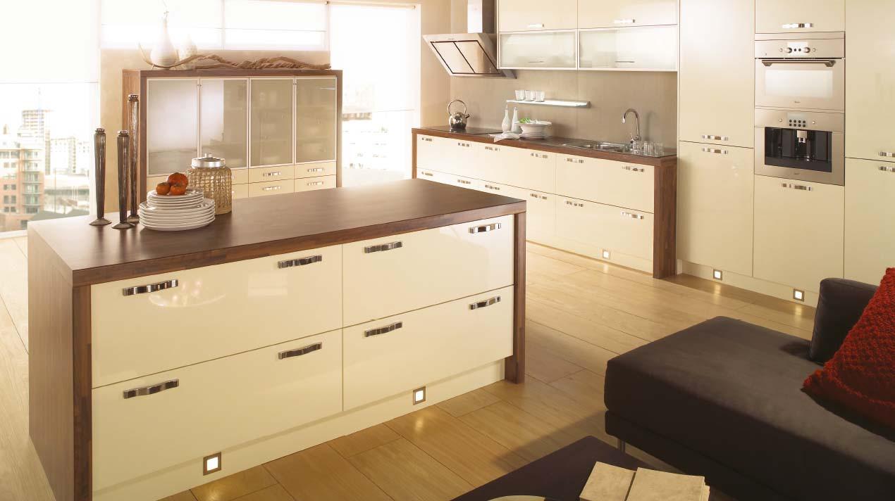 Mackintosh Metrica Ivory Gloss Kitchen Units