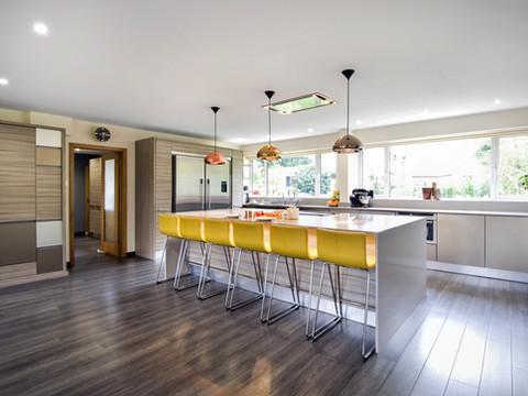 Conifer Kitchen & Living Space.