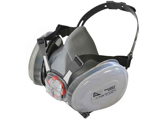 Scan Twin Half Mask Respirator inc P2 Refills SCAPPERESPP2