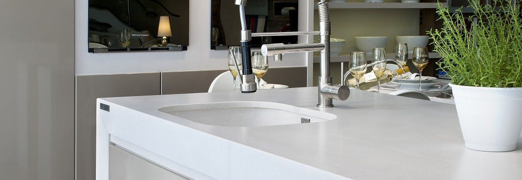Silestone White Storm 20mm Solid Worksurface