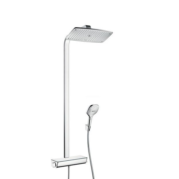 Hansgrohe Raindance Select E360 Showerpipe EcoSmart Chrome