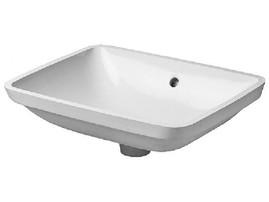 Duravit Starck 3 Vanity Basin 490mm Undercounter Model White