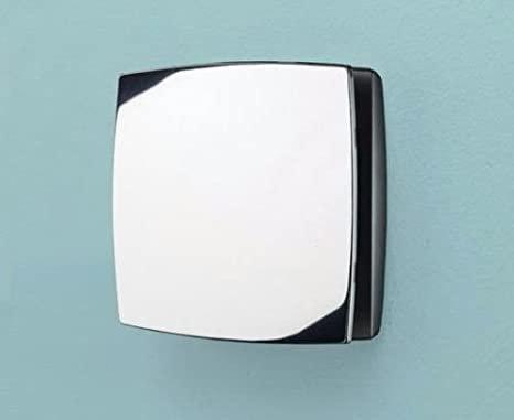 HIB 32800 Breeze Chrome Wall Mounted Bathroom Fan with Timer