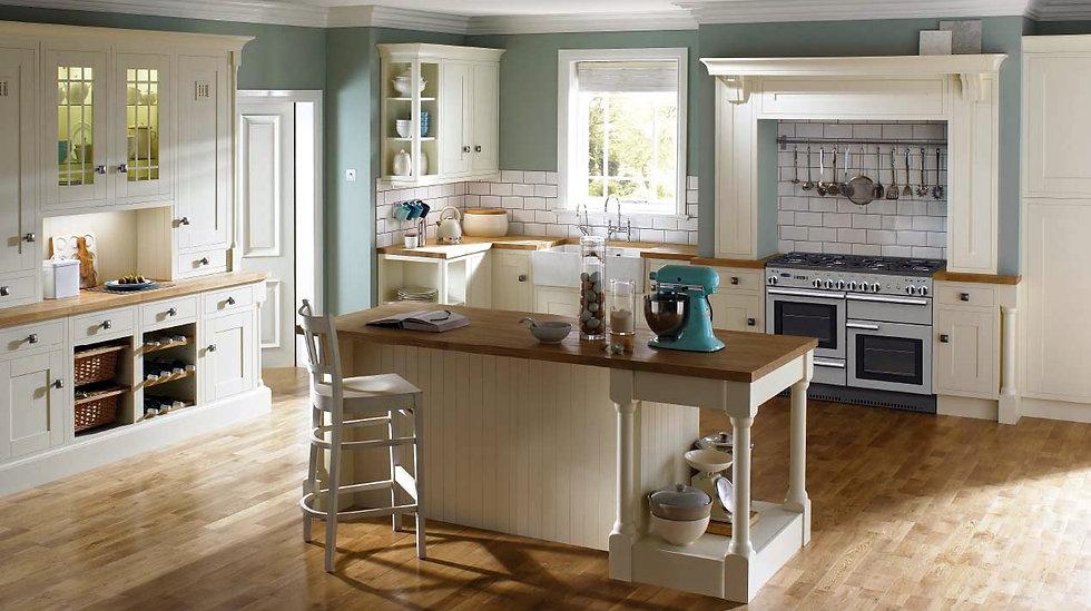 Mackintosh Framed Ivory Painted Kitchen