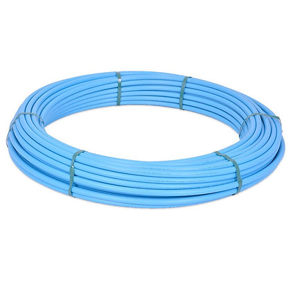 MDPE Blue Water Pipe 20mm x 25m Coil