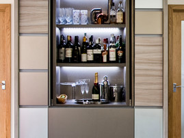 Bespoke Drinks Cabinet by Lisa Melvin Design