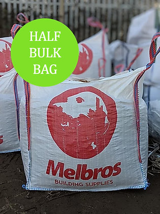 Red Building Sand Half Bulk Bag