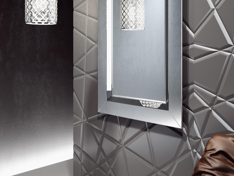 Bathroom Origins Bathroom Origins Modena Mirror 90cm Mirrored