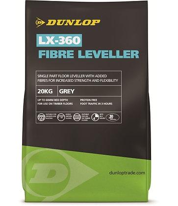 Dunlop Fibre Leveller Self Level Compound 20kg Grey