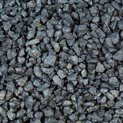 Black Basalt 20mm Decorative Chippings Bulk Bag