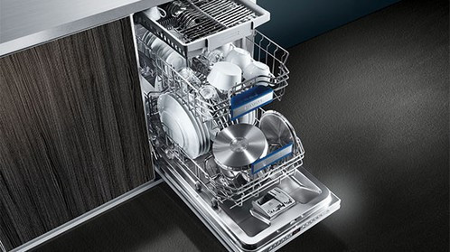 Siemens iQ300 60cm Fully Integrated Dishwasher Stainless Steel