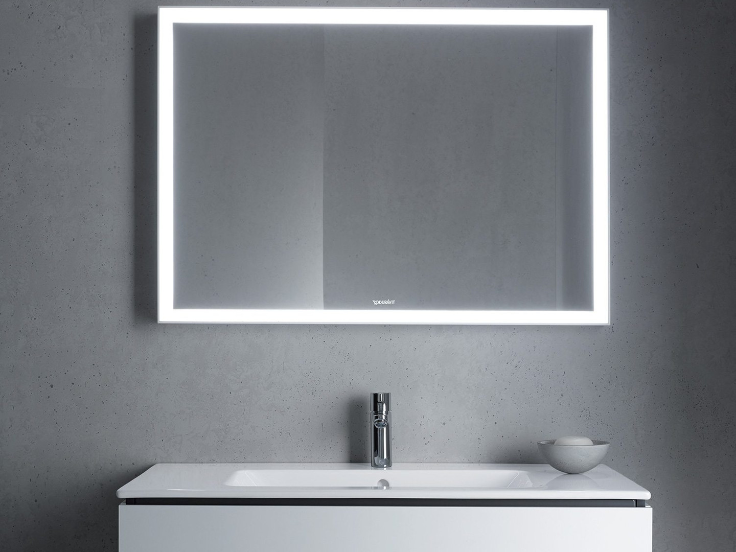 Duravit L-Cube Mirror With Lighting 700