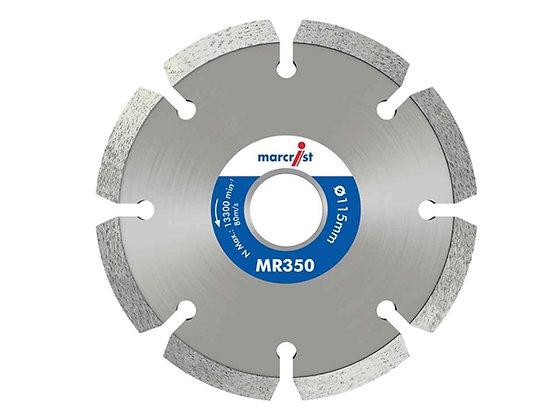 Marcrist Trade Mortar Raking Diamond Disc 115mm MR350