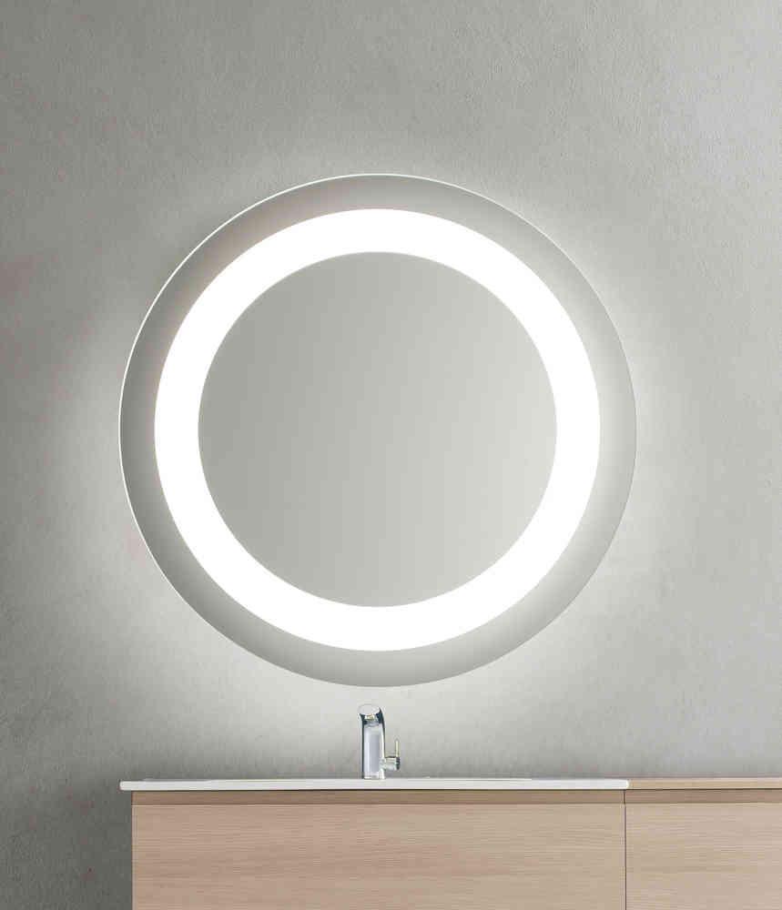 Bathroom Origins Bathroom Origins Halo Mirror 90cm Mirrored