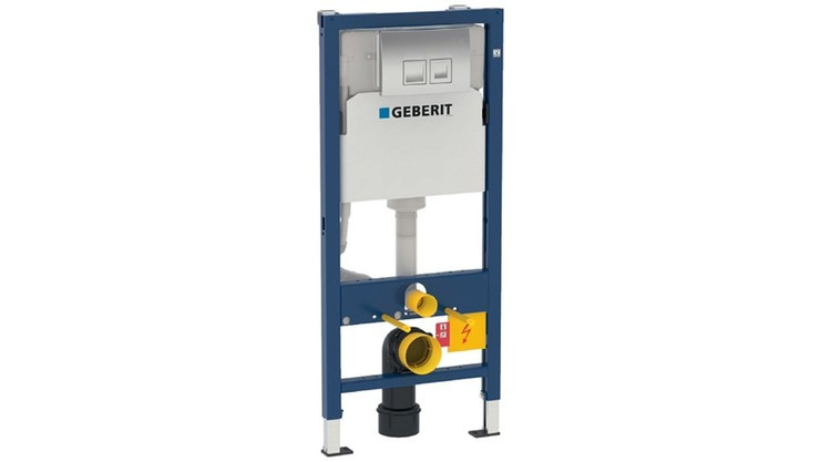 Geberit Duofix Frame For Wall-Hung WC, 112cm Concealed