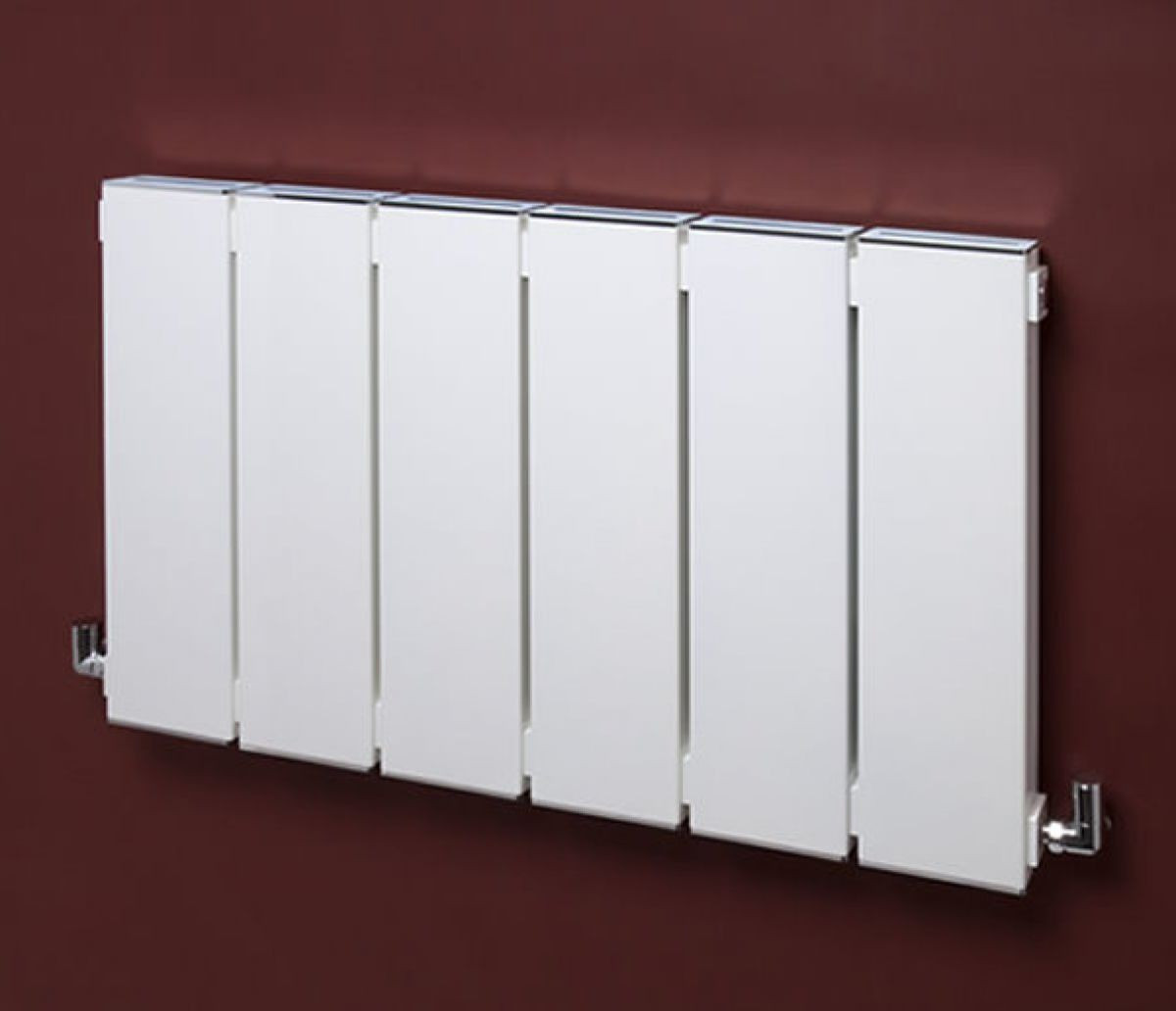 Bisque Blok White Radiator