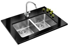 Franke Two Bowl Stainless Steel Kitchen Sink