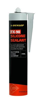 Dunlop Silicone Sealant 310ml Mist Grey