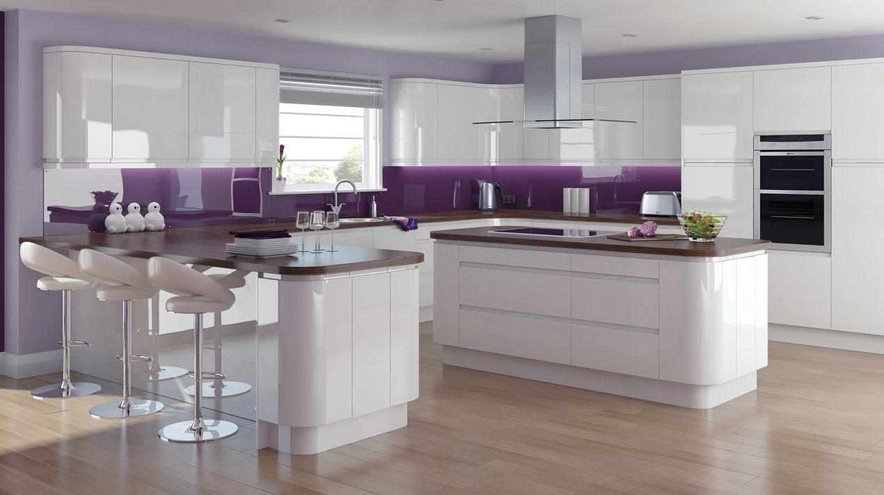 Mackintosh Solo Gloss White Kitchen