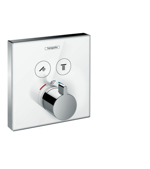Hansgrohe Showerselect Glass Thermostatic