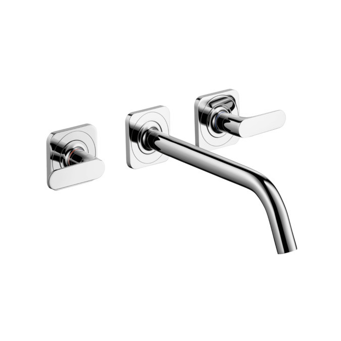 Hansgrohe Citterio M 3-Hole Basin Mixer With Long Spout Chrome