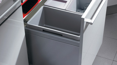 Drawer Box Waste Bin 2x13 1x30 600mm Tall