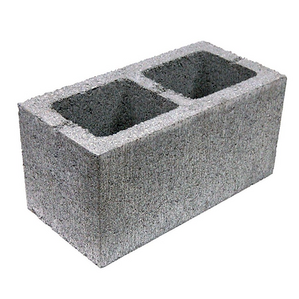 Concrete Block Hollow 440 x 215 x 215mm 7.3N