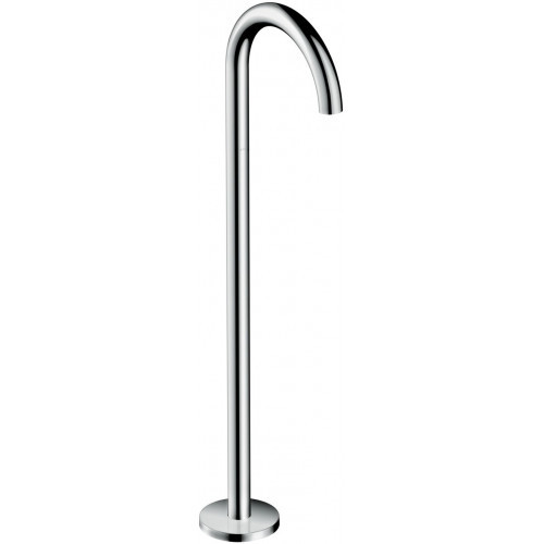 Hansgrohe Uno Floor Standing Bath Spout Curved Chrome