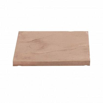 Eaton Milford Utility Riven Concrete Paving Slab Red 450 x 450mm