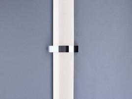 Bisque Svelte Designer Towel Radiator White