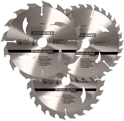 3pk TCT Circular Saw Blade 230mm 892547