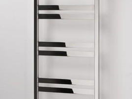 Aeon Cat Ladder in brushed steel