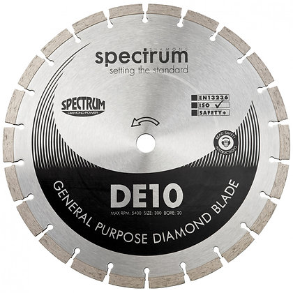 Spectrum Standard General Purpose Diamond Blade DE10 115mm
