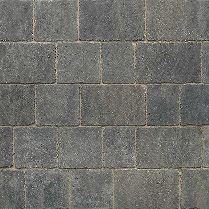 Stonemarket Trident Driveway Block Paving Small 120 x 160 x 60mm Charcoal