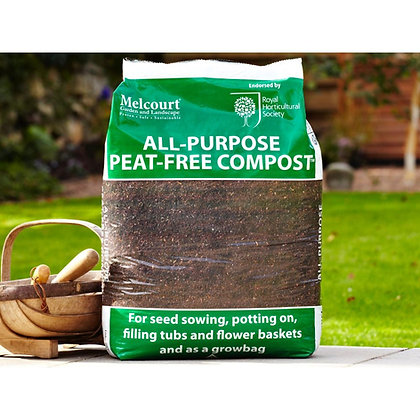All-Purpose Peat Free Compost Poly Bag 50L