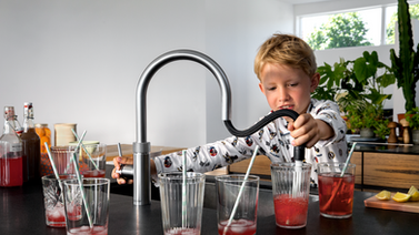 Quooker PRO3 Flex Boiling Water Tap With Flexible Hose Chrome