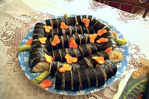 ペンション田代での寿司