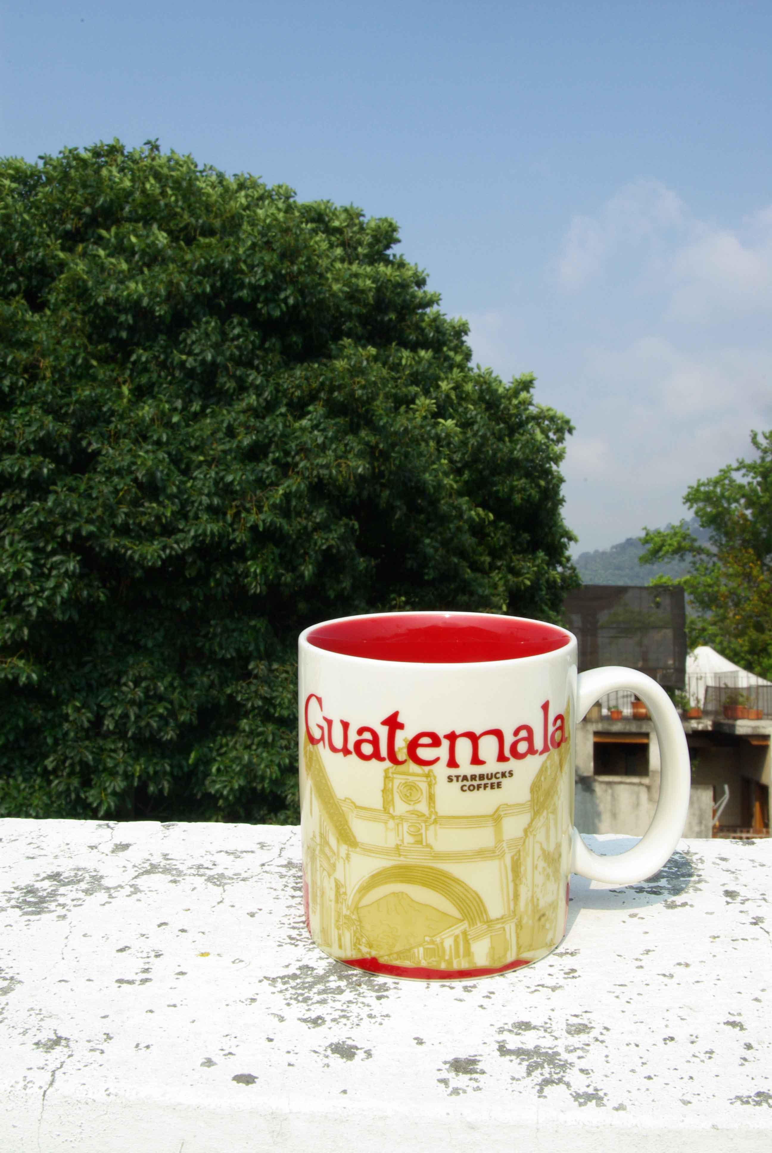 グアテマラ共和国のスターバックスの地方限定マグカップ