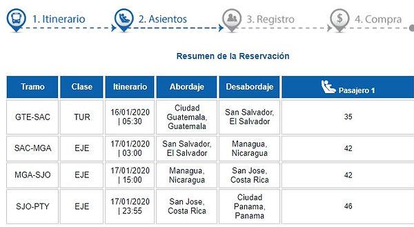 TICAバス日程表