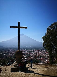 グアテマラ アンティグア 十字架の丘