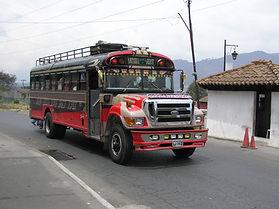 チキンバス グアテマラ