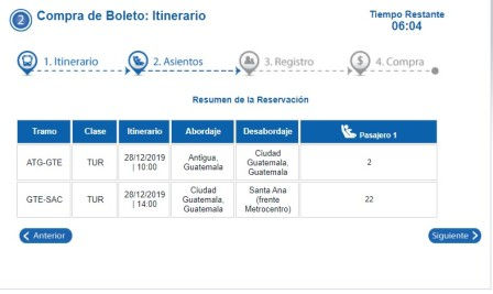 TICAバス 日程表