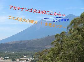 アカテナンゴ火山 ツアー フエゴ火山