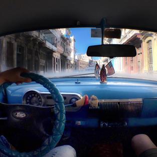 Winging it in Cuba