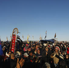 'War whoops,' hugs follow denied permit to Dakota Access